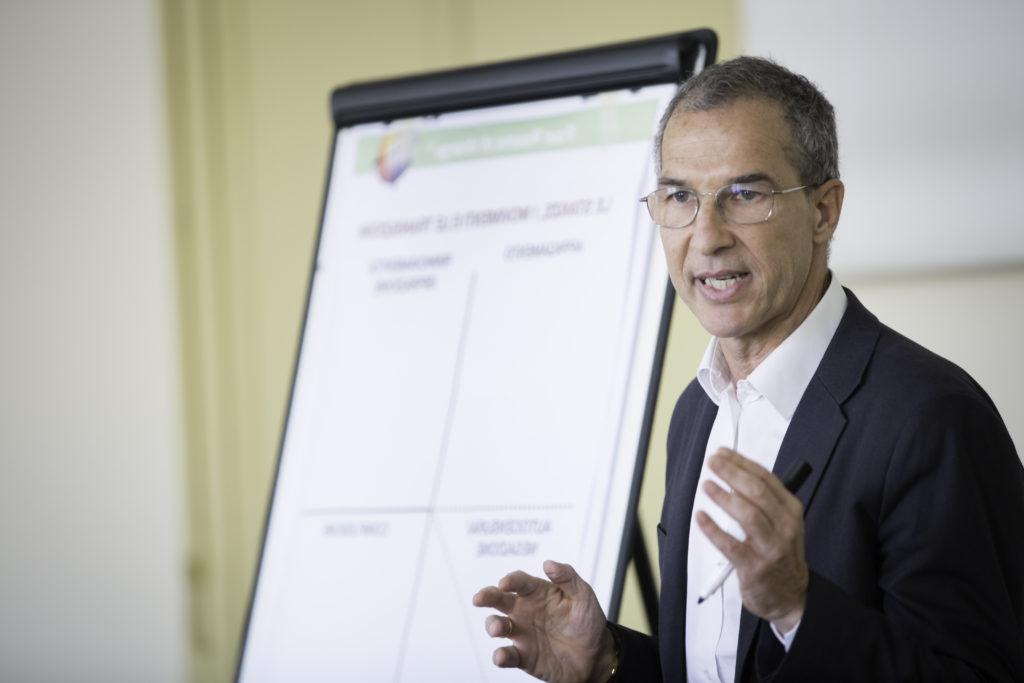 L'unico Executive Coach in Italia certificato Four Rooms of Change